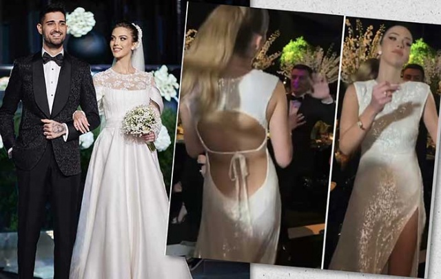 İdo Tatlıses ile Yasemin Şefkatli'nin düğününe damga vuran olay  Fotoğrafları - Foto Galerisi - foto haberleri